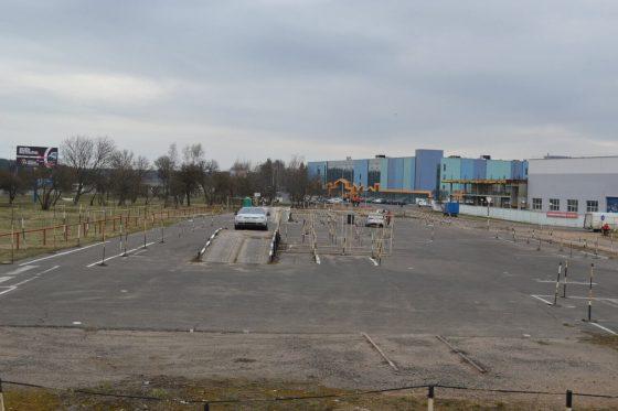 Автодром автошколы Минска центрального района, ост. Боровая
